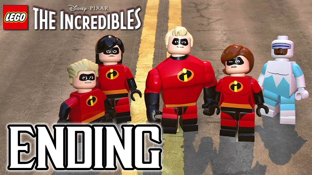 LEGO The Incredibles ENDING Walkthrough PART 12 (PS4 Pro) No Commentary @ 1080p HD ✔
