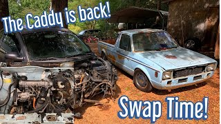 Our Barn Find Volkswagen Caddy Gets a New Heart! TDI Swap!
