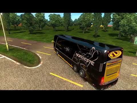 Euro Truck Simulator 2 Bus Trip To Innsbruck With Modasa Zeus 3 DP 6x2