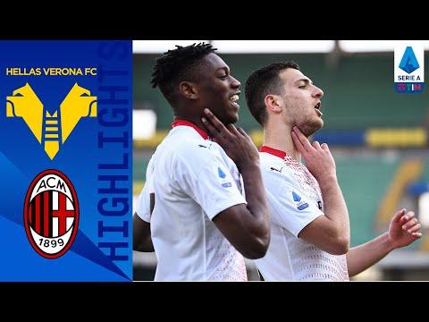 Helas Verona AC Milan Goals And Highlights
