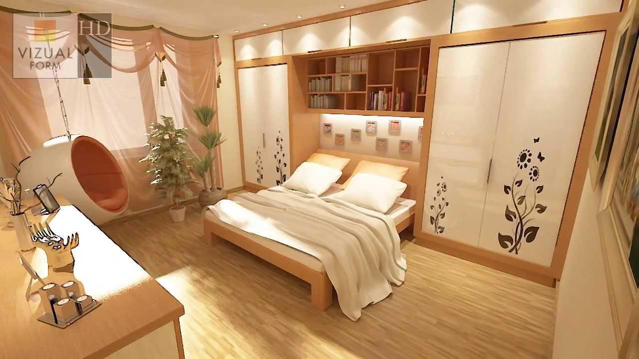 Pomysł na przytulną sypialnie Projekt sypialni Bedroom design - YouTube
