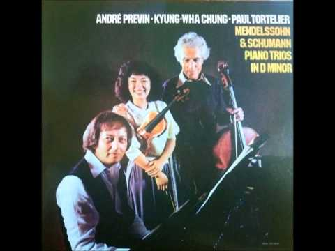 Kyung Wha Chung plays Mendelssohn Piano Trio No.1 in d minor Op.49