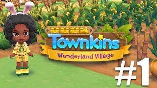 Townkins: Wonderland Village iOS Gameplay