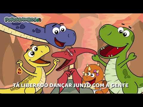 Clipe Música Infantil - BRINCANDO COM OS FOFOSSAUROS