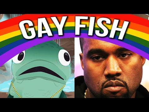 South Park The Fractured But Whole - KANYE WEST IS A GAY FISH