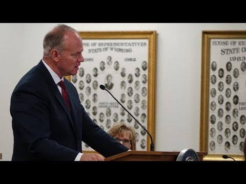 2018 Wyoming Governor Matt Mead State of the State Address
