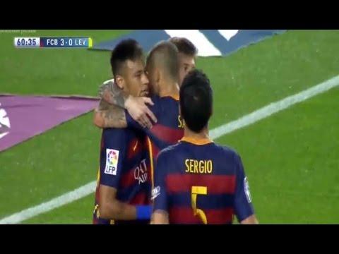 Barcelona vs Levante 4-1 Resumen Completo 2015
