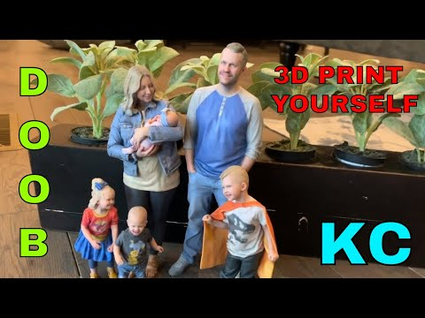 CUSTOM ACTION FIGURES - PRINT YOURSELF IN 3D AT DOOB KC