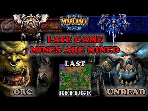 Grubby | Warcraft 3 The Frozen Throne | Orc v UD - Late Game Mines are Mined - Last Refuge