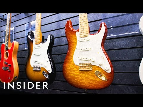 How Fender Guitars Are Made  | The Making Of
