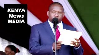 Governor Mike Sonko REMARKS during JAMHURI DAY CELEBRATIONS 2018!!!