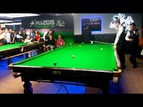 Mark selby vs Au chi wai in hong kong 2015
