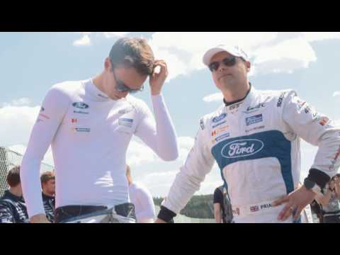 Ford GT Le Mans Driver Health and Fitness
