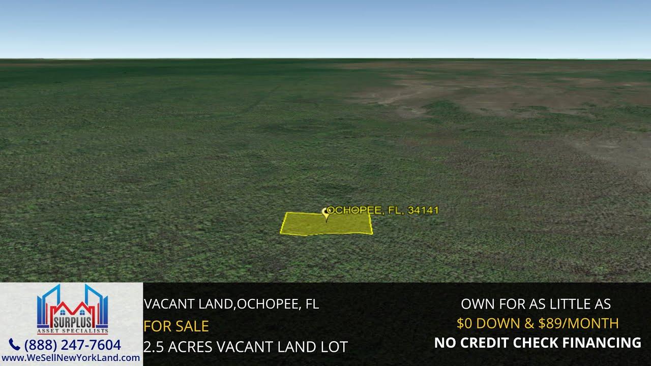 Ochopee, Fl - Florida Land For Sale - www.WeSellNewYorkLand.com