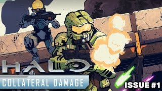 Halo: Collateral Damage #1 - Review
