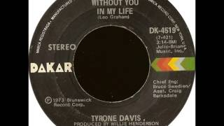 Watch Tyrone Davis Could I Forget You video