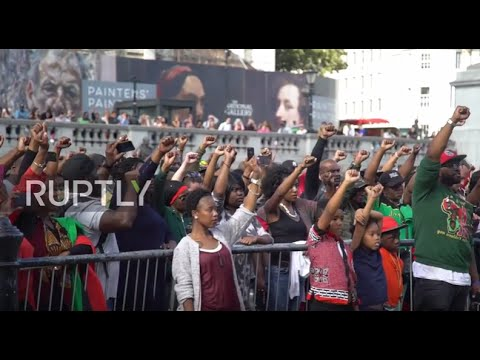 UK: Trafalgar Square hosts first ever memorial service for transatlantic slave trade