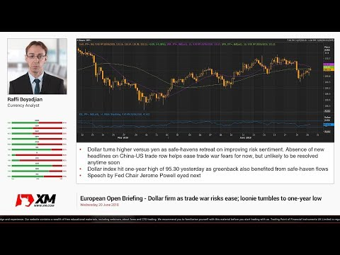 Forex News: 20/06/2018 - Dollar firm as trade war risks ease; loonie tumbles to one-year low
