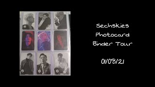 Sechskies (젝스키스) Binder Tour 01/08/21