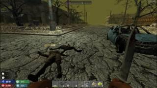 7 Days to Die Mod Hardcore Эксперименальные рецепты С 23 лагерь выживших и скотобойня
