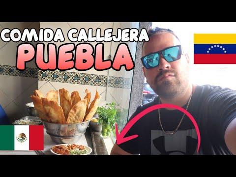 ASI ES LA COMIDA CALLEJERA DE PUEBLA CITY