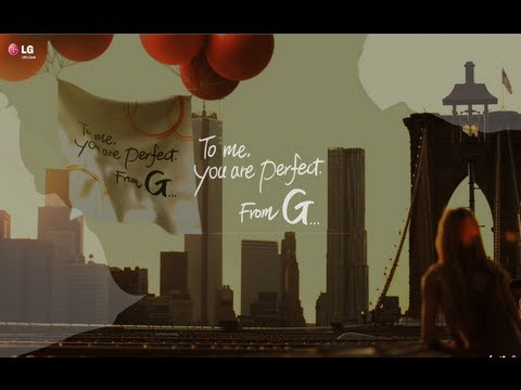 To me, you are perfect. From G...