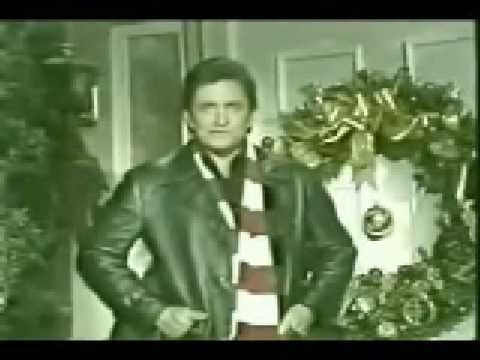 johnny cash sings the little drummer boy