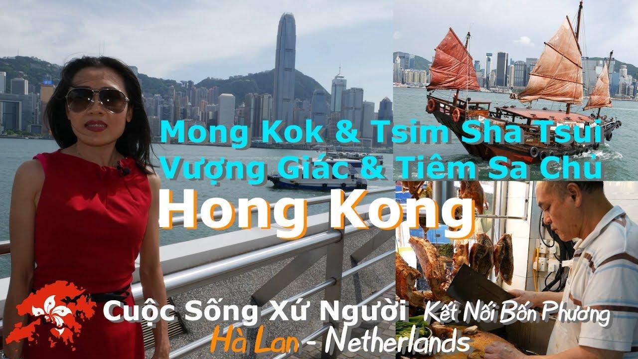 4K | Du Lịch Hong Kong: khám phá Tiêm Sa Chủy & ăn cơm thịt xá xíu tại Vượng Giác