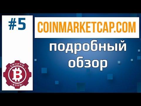 COINMARKETCAP- сервис для отслеживания криптовалюты.