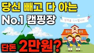 오토캠핑장 추천! 동강전망자연휴양림 강원도가볼만한곳