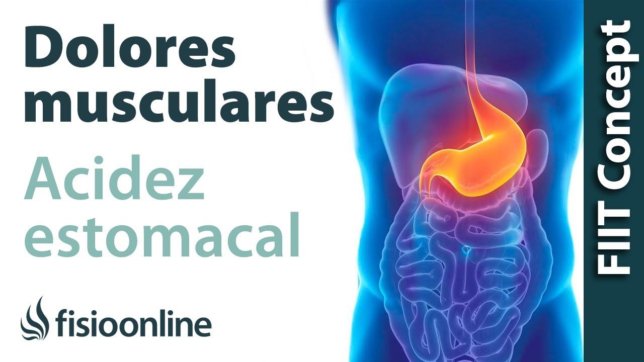 hernia discal y grief de estomago