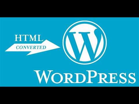 HTML To WordPress Convert Class #01 | WordPress Theme Development