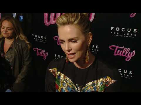 Tully LA Premiere  Itw Charlize Theron  video