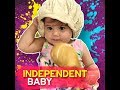 Independent baby | KAMI |  Pokwang and Lee O'Brian's cute daughter