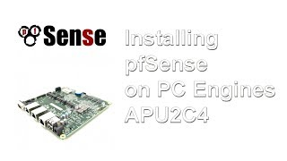 How to install pfSense on a PC Engines APU2C4 board via console