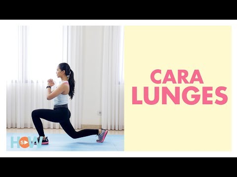 Cara Lunges yang Benar   Fitness How To