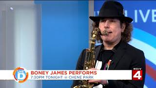 Live In The D Boney James Performs At Chene Park