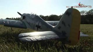Test: HYPE Focke Wulf FW-190 auf RC-MODELLSCOUT.DE