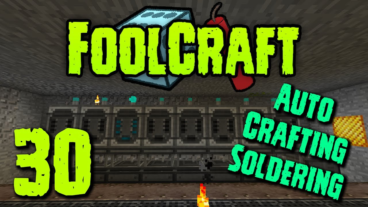 FoolCraft: Episode 30 - AUTO CRAFTING SOLDERING!