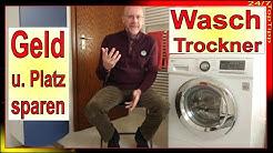2 in 1 - Waschtrockner - Alternative zu Waschmaschine und Trockner - preiswert und platzsparend Top