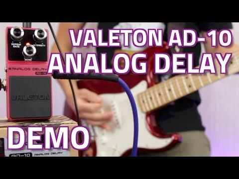 Valeton Loft Series AD-10 Analog Delay Pedal - Demo