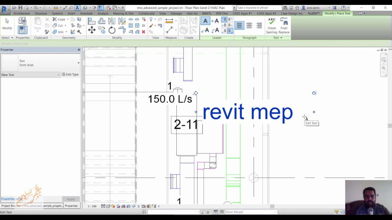 Revit Mep 2017 Certified Professional Exam Preparation 05 Youtube