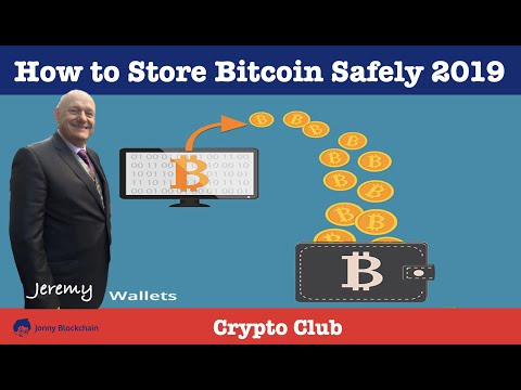 How To Store Bitcoin Safely