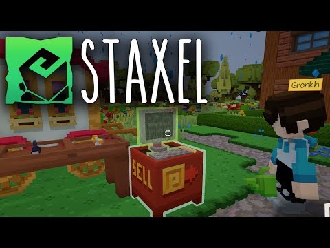 STAXEL 🐓 STEHLEN ist fast wie LEASING • Let's Play Staxel [04]