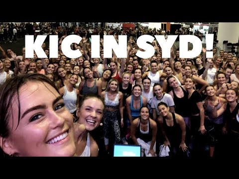 KIC Girls in SYD! Fitness expo and more!