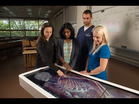 SIUE School of Nursing Enriches Simulated Experiences with Revolutionary Anatomage Table