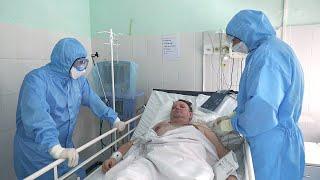 В России за последние сутки выявлено 9 694 новых случая коронавируса