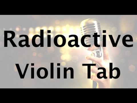 Learn Radioactive on Violin - How to Play Tutorial