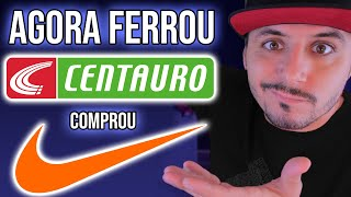 CENTAURO COMPROU A NIKE E AGORA | The Vict Responde #34