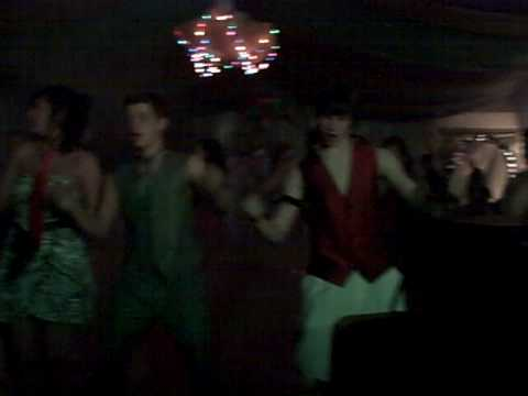 Prom 2009 - Montezuma High School Doing the 2008 Morale Dance